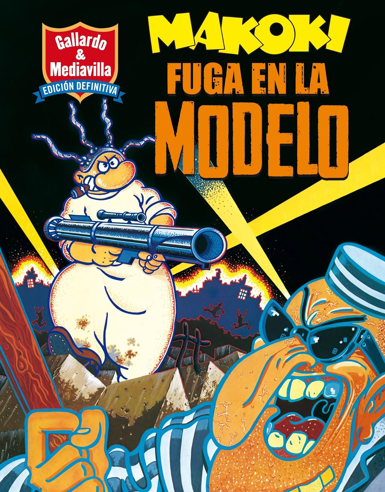 Gallardo y Mediavilla Fuga en la modelo cubierta