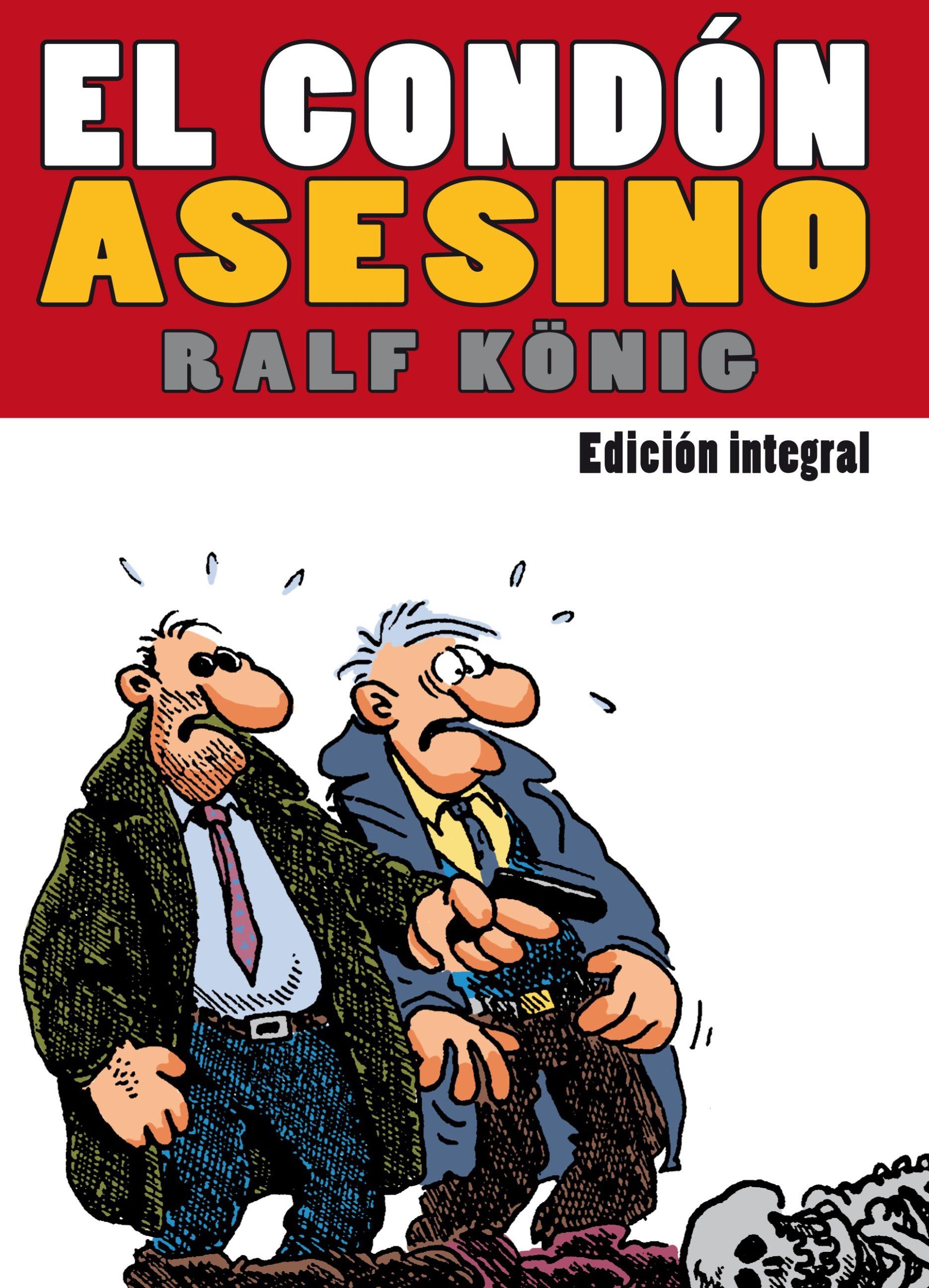 P Ralf Konig El condon asesino Cubierta
